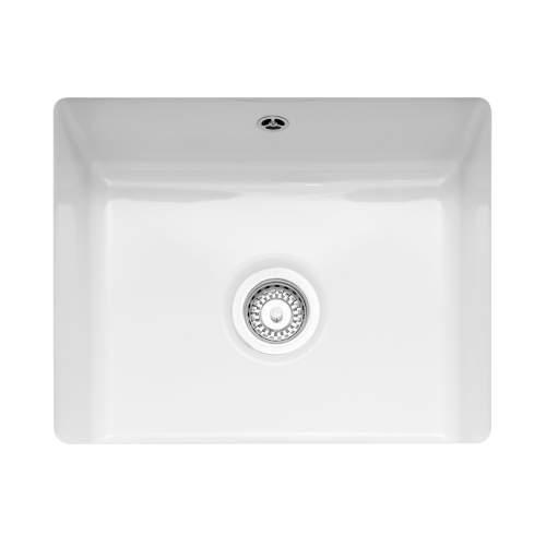 Caple Ettra 600 Ceramic Undermount Kitchen Sink
