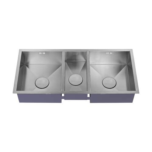 1810 Company ZENTRIO 2.5 Bowl Kitchen Sink