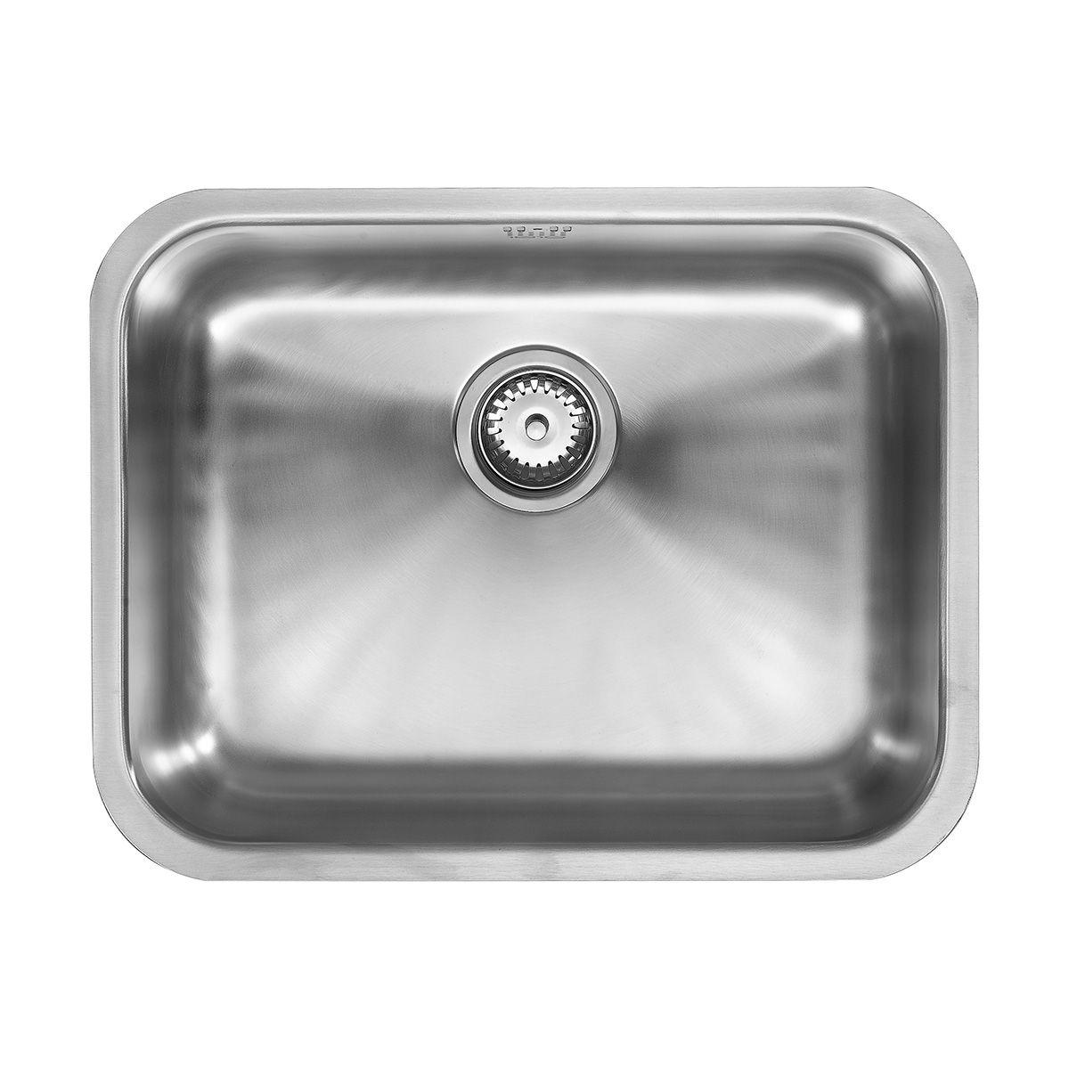 1810 Company ETROUNO 550U Kitchen Sink - Sinks-Taps.com
