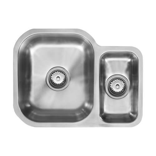 1810 Company ETRODUO 589/450U Undermount Kitchen Sink
