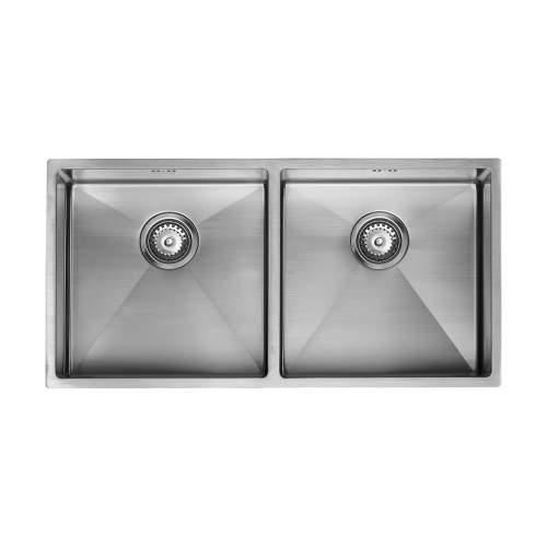 1810 Company ZENDUO15 400/400U Undermount Kitchen Sink
