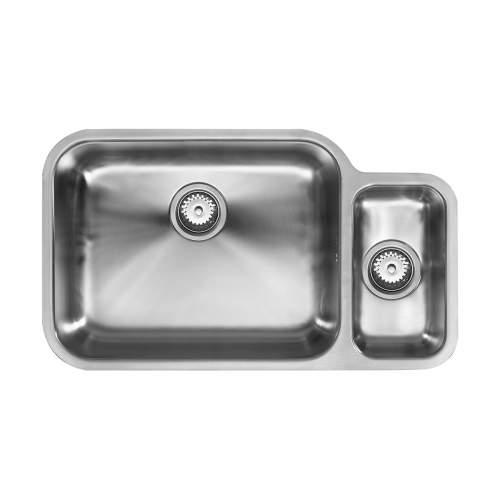 1810 Company ETRODUO 781/450U Undermount Kitchen Sink