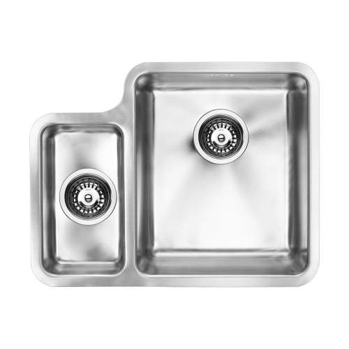 1810 Company LUXSODUO25 340/160U Undermount Kitchen Sink