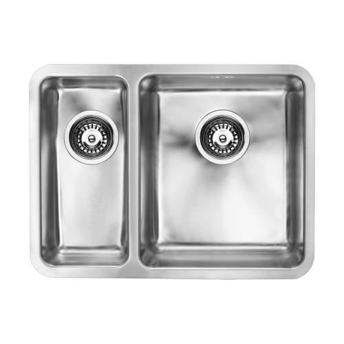 LUXSODUO25 340/180U Undermount Kitchen Sink