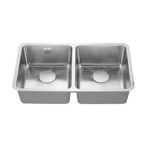 LUXSODUO25 340/340U Undermount Kitchen Sink
