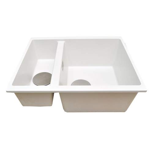 1810 Company CAVADUO 355/155U Undermount Kitchen Sink