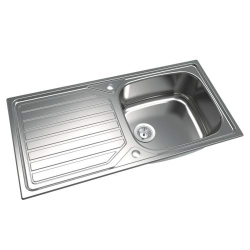 1810 Company VELOREUNO 100I LARGE Inset Kitchen Sink