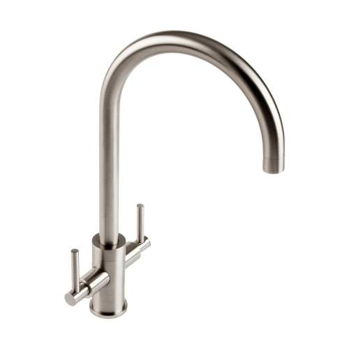 1810 Company Curvato Slim Lever, Curved Spout Kitchen Tap