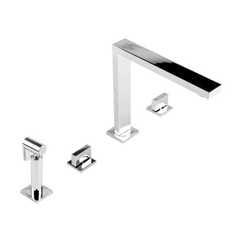 Novanta 4 Hole Design (Inc Hand Spray) Kitchen Tap