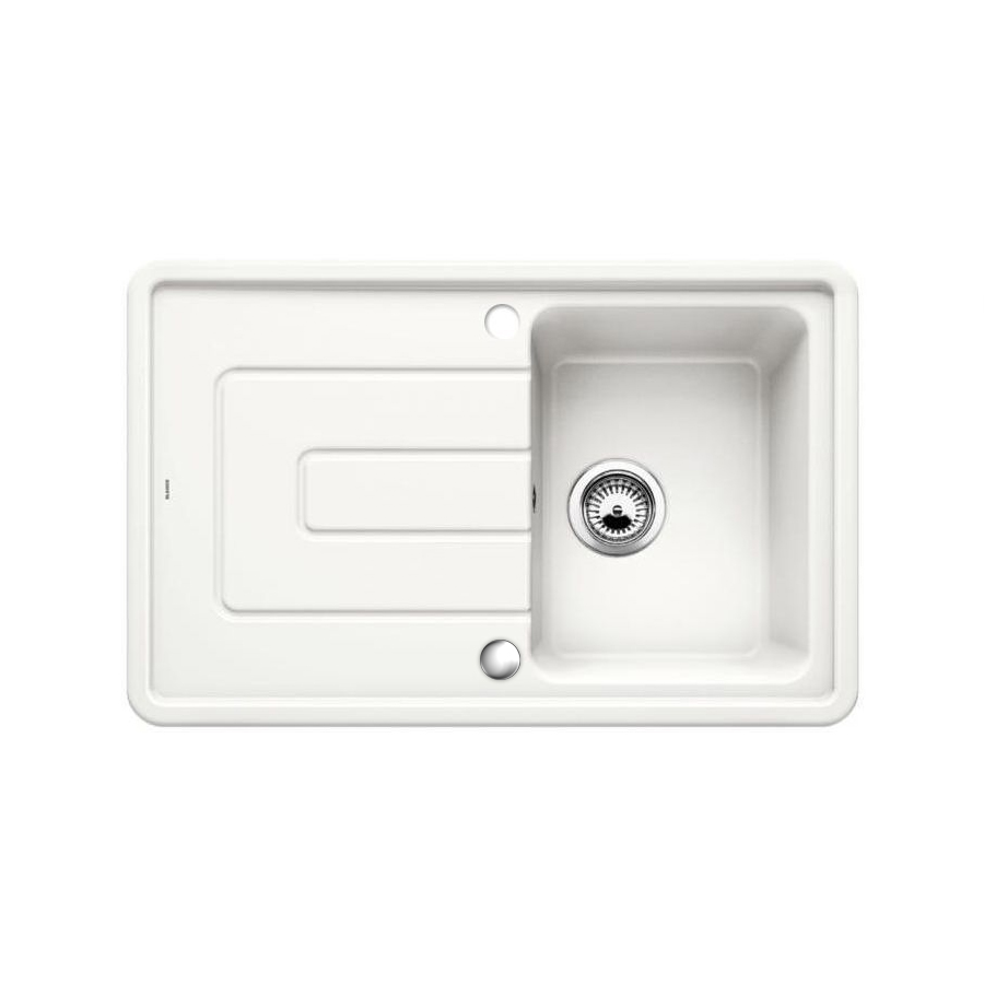 Superb Blanco Tolon 45 S Ceramic Inset Compact Kitchen Sink Sinks Home Interior And Landscaping Sapresignezvosmurscom