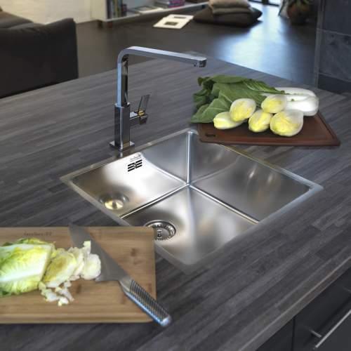 Reginox New York 40x40 Single Bowl Sink