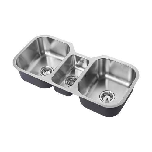 1810 Company ETROTRIO 960/450U Undermount Kitchen Sink