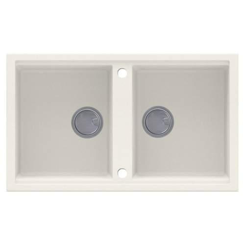 Reginox Best 450 2.0 Bowl Inset Granite Sink - Cream