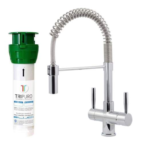 Bluci FiltroPro Professional Filter Kitchen Tap with Chrome Handles