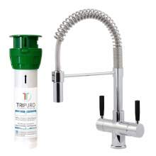 Bluci FiltroPro Professional Filter Kitchen Tap with Black Handles