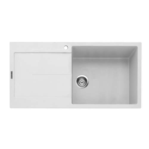 Caple Canis 100 Inset Kitchen Sink With Drainer