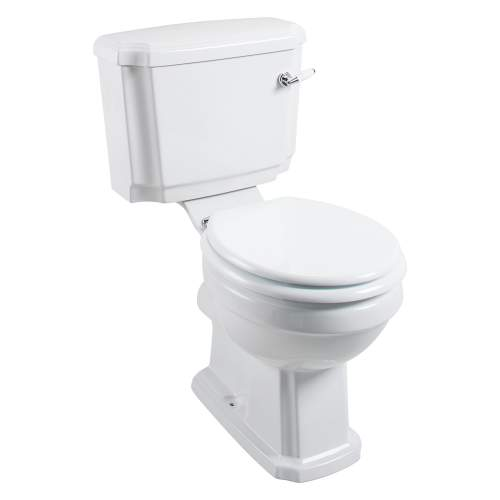 Aquabro Cromford Traditional Close Coupled Pan & Cistern with Seat