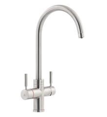 Abode PRONTEAU  Prostream 3 in 1 Kitchen Tap in Brushed - PT1102