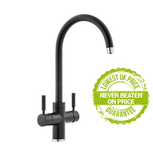 Abode PRONTEAU  Prostream 3 in 1 Kitchen Tap in Matt Black - PT1104