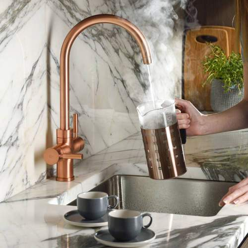 Abode PRONTEAU  Prostream 3 in 1 Kitchen Tap in Urban Copper - PT1105