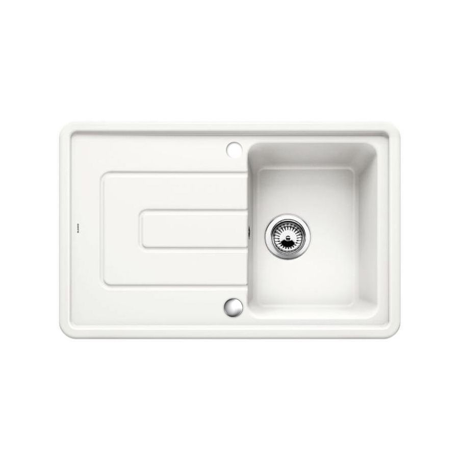 blanco ceramic kitchen sinks blanco tolon 45 s ceramic inset compact kitchen sink 4774
