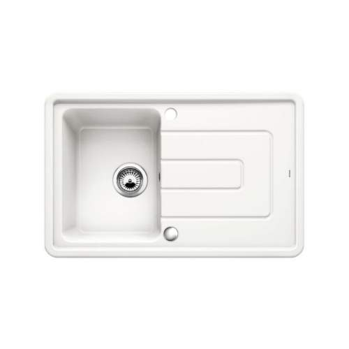 Blanco TOLON 45 S CERAMIC PuraPlus® Inset Compact Kitchen Sink