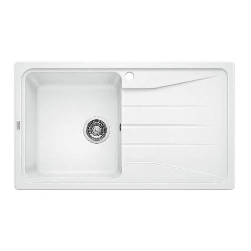 Blanco SONA 5 S Silgranit® PuraDur II® Inset Kitchen Sink - White