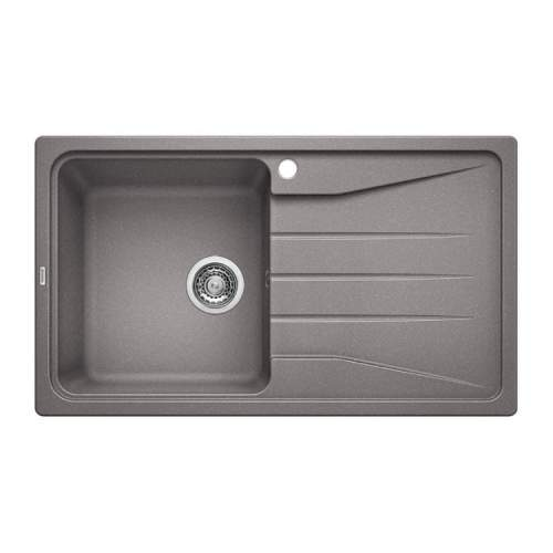 Blanco SONA 5 S Silgranit® PuraDur II® Inset Kitchen Sink - Alumetallic