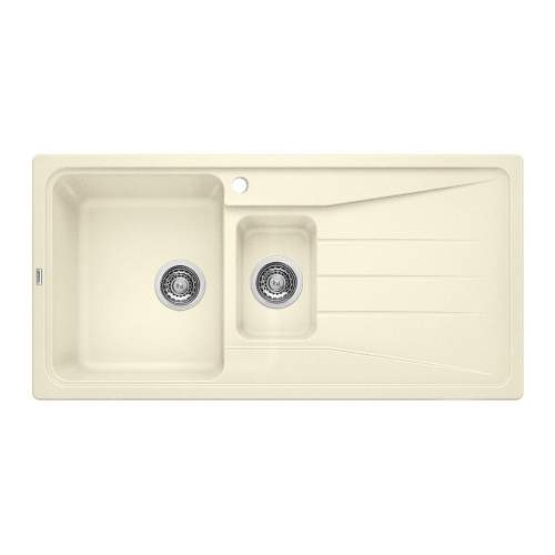 Blanco SONA 6 S Silgranit® PuraDur II® 1.5 Bowl Inset Kitchen Sink - Jasmin