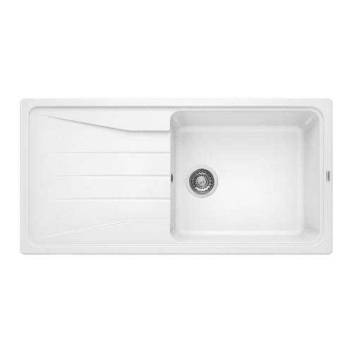 Blanco SONA XL 6 S Silgranit® PuraDur II® Inset Kitchen Sink - White