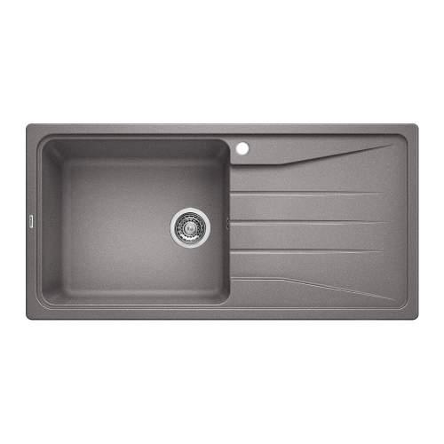 Blanco SONA XL 6 S Silgranit® PuraDur II® Inset Kitchen Sink - Alumetallic