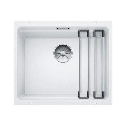 Blanco ETAGON 500-U Silgranit® PuraDur II® Undermount Kitchen Sink - White
