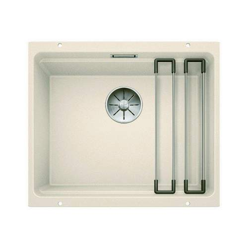 Blanco ETAGON 500-U Silgranit® PuraDur II® Undermount Kitchen Sink - Jasmin