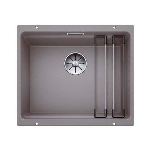 Blanco ETAGON 500-U Silgranit® PuraDur II® Undermount Kitchen Sink - Alumetallic