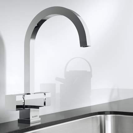 Blanco CUBIC Kitchen Tap in Chrome - BM1251CH