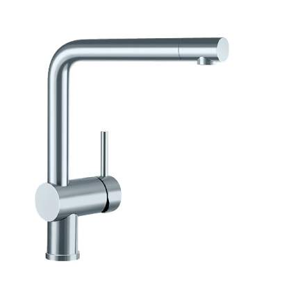 Blanco LINUS Side Lever Monobloc Kitchen Tap in Brushed
