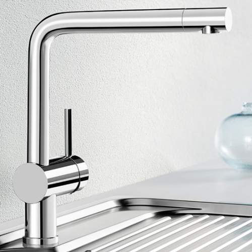 Blanco LINUS Side Lever Monobloc Kitchen Tap
