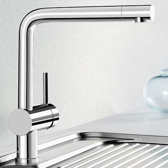 Blanco Linus Side Lever Monobloc Kitchen Tap Sinks Taps Com