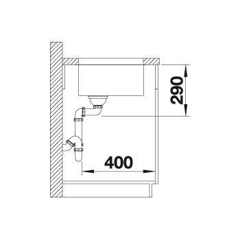 Blanco ANDANO 700-U Undermount Kitchen Sink