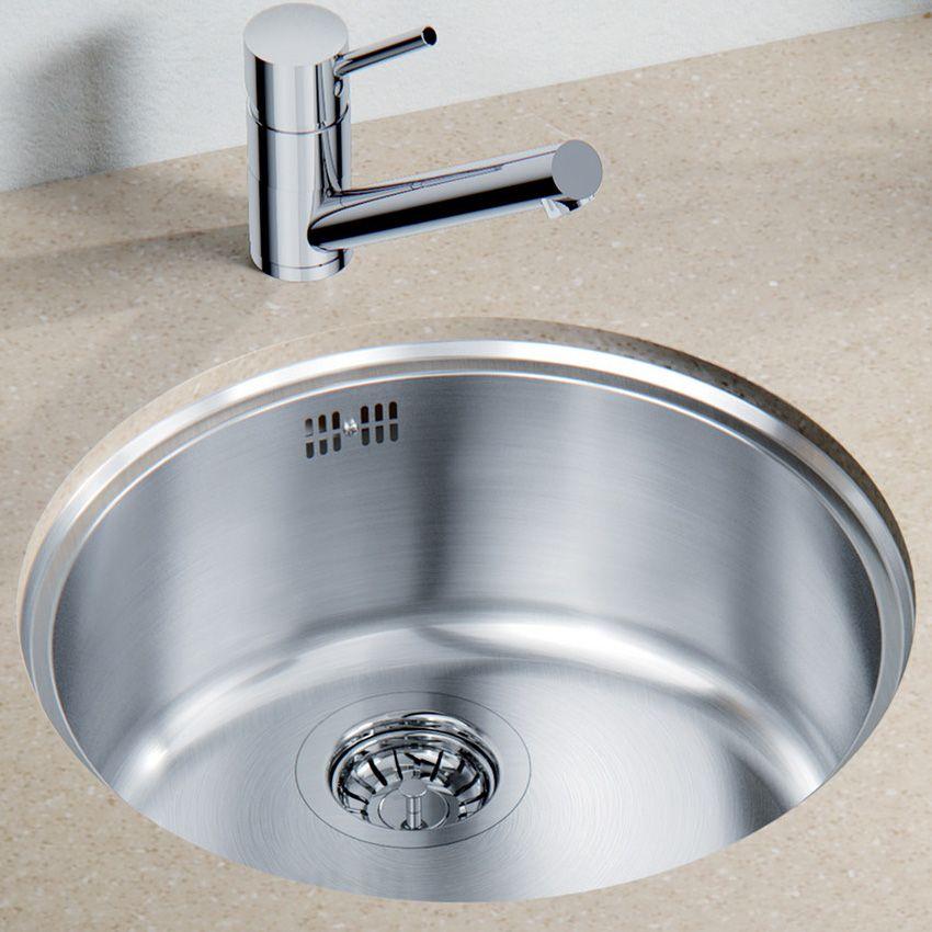 Blanco Rondo U Sol Round Bowl Sink Sinks Taps Com