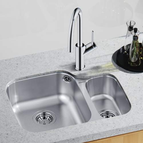 Blanco SUPREME 533-U 1.5 Bowl Undermount Kitchen Sink - BL450767