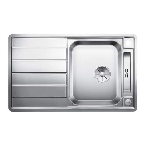 Blanco AXIS III 45 S-IF 1.5 Bowl with Drainer Inset Kitchen Sink - BL468105