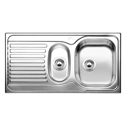 Blanco BONUS 6 S 1.5 Bowl Inset Kitchen Sink with Drainer