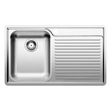 Blanco CLASSIC 45 S-IF Single Bowl Inset Kitchen Sink with Drainer - BL450906