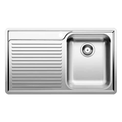 Blanco CLASSIC 45 S-IF Single Bowl Inset Kitchen Sink with Drainer - BL450907