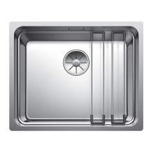 Blanco ETAGON 500 IF Single Bowl Inset Kitchen Sink with Saucepan Suspension Rails included - BL468100
