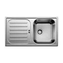 Blanco FLEX PRO 45 S Single Bowl Inset Kitchen Sink with Drainer - BL467842