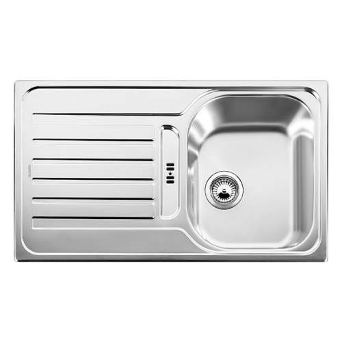 Blanco LANTOS 45 S Single Bowl Inset Kitchen Sink with Drainer - BL450817