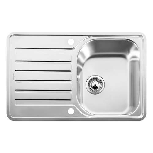 Blanco LANTOS 45 S-IF COMPACT Single Bowl Inset Kitchen Sink with Drainer - BL453368