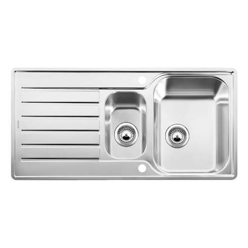 Blanco LANTOS 6 S-IF 1.5 Bowl Inset Kitchen Sink with Drainer - BL453568
